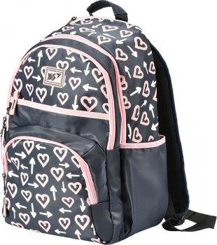 Рюкзак шкільний YES S-39 Tender heart для дівчаток (558336) (5056137179688)