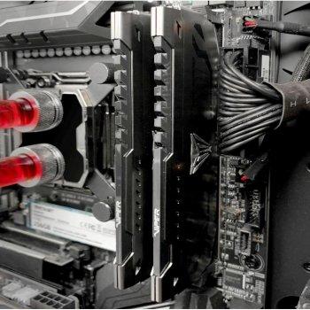 Модуль пам'яті для комп'ютера DDR4 16GB (2x8GB) 3400 MHz Viper Steel Patriot (PVS416G340C6K)