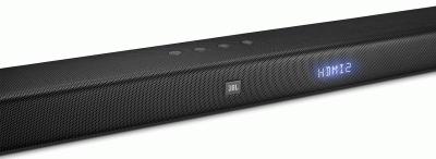 Домашні кінотеатр 5.1 SoundBar JBL, Bar 5.1, 4xHDMI, 1xAudio-In, 1xOptical S/PDIF, Bluetooth 4K Ultra HD Soundbar with True Wireless (JBLBAR51BLK)