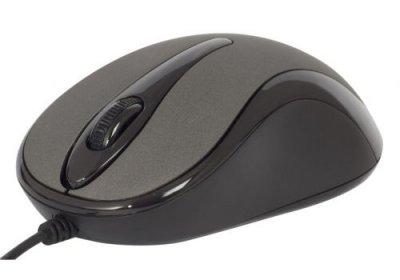 Миша A4Tech N-350-1 USB Glossy Grey (4711421865043)