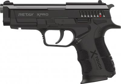 Пістолет стартовий Retay XPro 9 мм Чорний (11950603)
