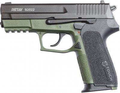 Пістолет стартовий Retay 2022 9 мм Оливковий (11950819)