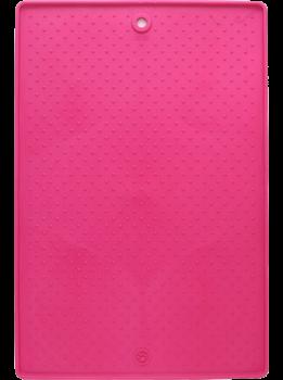 Антиковзаючий килимок під миски для собак і кішок Dexas Pet Bowl Grippmat малий 33х48 см Рожевий