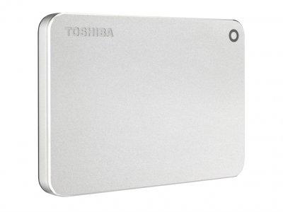 """Накопичувач зовнішній HDD 2.5"""" USB 2.0 TB Toshiba Canvio Premium Silver (HDTW220ES3AA)"""
