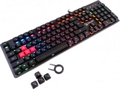 Клавіатура A4Tech B160N Bloody Black USB