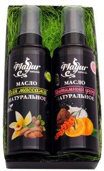 Набір Mayur №1 Масло для масажу 120 мл + Масло для інтимного догляду 120 мл (2200160407017)