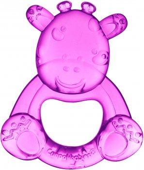 Іграшка-прорізувач з водою Canpol Babies Жирафчик (56/147 Рожевий) (5903407561479)