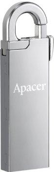 Apacer AH13A 64GB USB 2.0 Silver (AP64GAH13AS-1)
