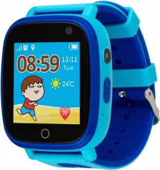 Смарт-годинник Atrix Smart Watch iQ1100 Aquatic Cam Flash Blue