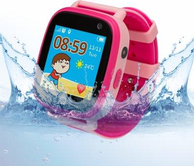 Смарт-годинник Atrix Smart Watch iQ1100 Aquatic Cam Flash Pink