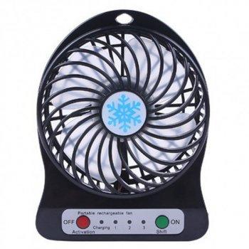 Міні-вентилятор Portable Fan Mini Чорний