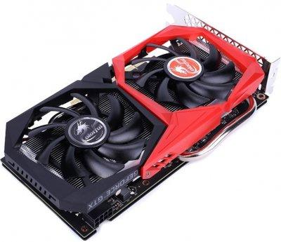 Colorful PCI-Ex GeForce GTX 1660 6GB GDDR5 (192bit) (1530/8000) (DVI, HDMI, DisplayPort) (GTX 1660 NB 6G-V)