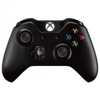 Microsoft Xbox One S Wireless Controller with Bluetooth (Black) + Thumb Grips (накладки на стіки, 4 шт.)