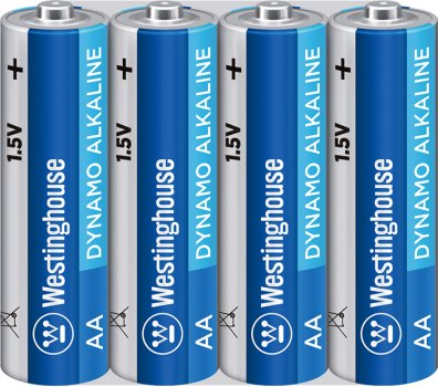 Щелочная батарейка Westinghouse Dynamo Alkaline AA/LR6 4 шт (889554000397)