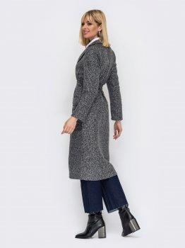 Пальто Dressa 53062 Графітове