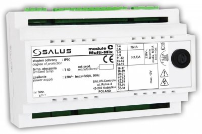 Розширювальний модуль С для регулятора SALUS Multi-Mix