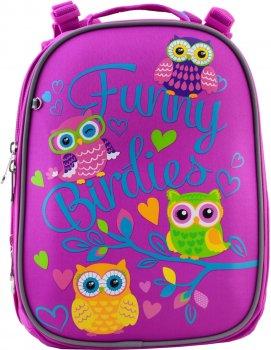 Рюкзак шкільний YES H-25 жіночий 0.85 кг 28x37x16 см 15 л Funny Birdies (556189)