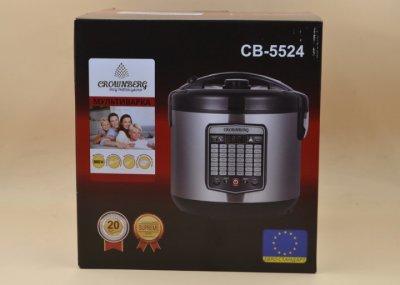 Мультиварка Crownberg Cb-5524 45 Программ 5 Л 860 Вт