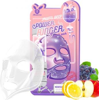 Маска Elizavecca Deep Power Ringer Mask - Fruits 23 мл (8809520941914)