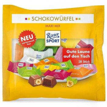 Шоколад Ritter Sport Schokowürfel Maxi Mix 222 g