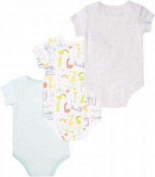 Боди-футболка Minoti Numbers 5 16049 Разноцветное