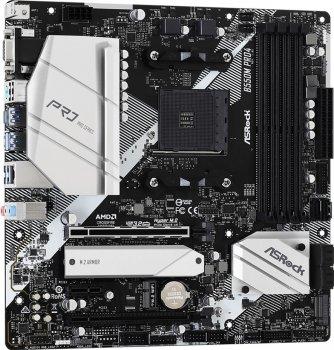 Материнська плата ASRock B550M Pro4 (sAM4, AMD B550, PCI-Ex16)