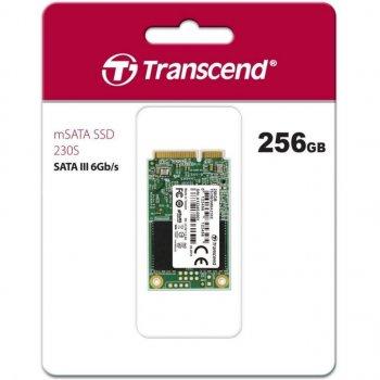 Накопичувач SSD mSATA 256GB Transcend (TS256GMSA230S)
