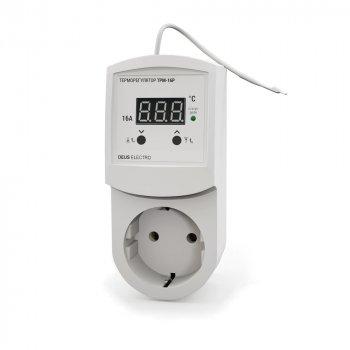Цифровий Терморегулятор розетковий DEUS ELECTRO ТРМ-16Р.
