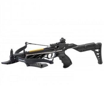 Арбалет Man Kung MK-TCS2BK Рекурсивний, пістолетного типу, алюм. рукоять ц:чорний