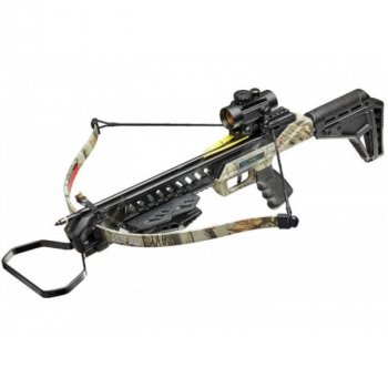 Арбалет Man Kung MK-XB27GODC-KIT Рекурсивный, винтовочного типа, пластик. приклад ц:camo