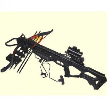 Арбалет Man Kung MK-XB25BK-KIT Рекурсивный, винтовочного типа, пластик. приклад