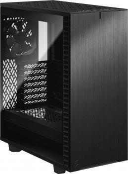 Корпус Fractal Design Define 7 Compact Dark Tempered Glass Black (FD-C-DEF7C-02)