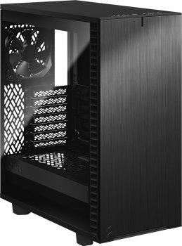 Корпус Fractal Design Define 7 Compact Light Tempered Glass Black (FD-C-DEF7C-03)
