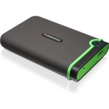"""Зовнішній жорсткий диск 2.5"""" 500GB Transcend (TS500GSJ25M3S)"""