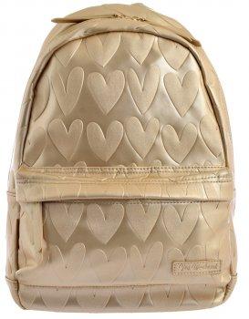 Рюкзак жіночий Yes Weekend YW-41 Golden Heart 39 x 24 x 11 см Золотистий