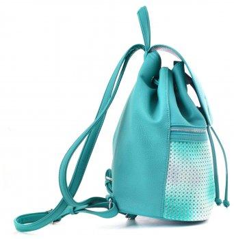 Сумка-рюкзак Yes Weekend 29 x 25 x 17 см Бірюзовий