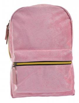 Рюкзак жіночий Yes Weekend YW-21 Velour Marlin 33 x 23 x 8 см Рожевий
