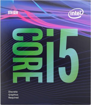 Процесор Intel Core i5-9400F 2.9GHz / 8GT / s / 9MB (BX80684I59400F) s1151 BOX