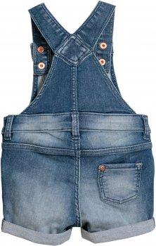 Напівкомбінезон H&M 5754877 Світлий джинс
