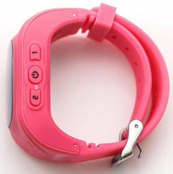 Смарт годинник дитячі Smart Watch Q50 OLED матриця GPS і SOS виклик Рожеві
