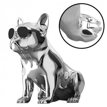 Bluetooth-колонка Aerobull BIG DOG S4, c функцією speakerphone, радіо Металік