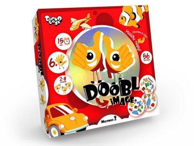 Гра настільна Danko Toys Doobl Image велика Multibox 2 (доббль, знайди пару) (Укр) (DBI-01-02)