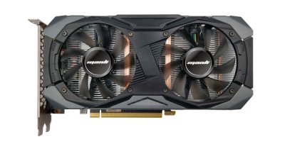Видеокарта Manli GeForce GTX 1660 Gallardo, Twin cooler, 6GB (M-NGTX1660G/5REHDP-M2436)