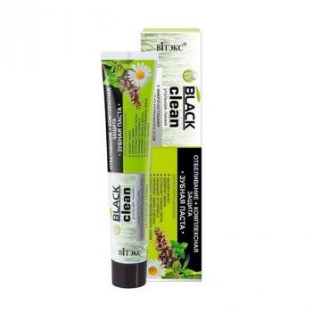 """Витекс, BLACK CLEAN, зубная паста """"Отбеливание + комплексную защиту"""", 85 г(4810153024466)"""