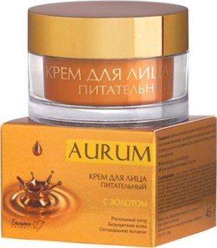 Белита-М, Aurum, КРЕМ для лица питательный с золотом 45 г(4813406004291)