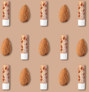 Relouis, БАЛЬЗАМ-ДОГЛЯД для губ iCARE lip balm, Almond, 4,4 г (4810438023108)
