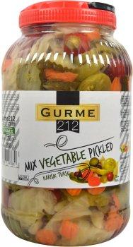 Микс овощей Gurme 212 маринованных 3.75 кг (8680697447689)