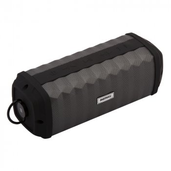 Бездротова колонка Remax RB-M12 PLUS Портативна акустична Bluetooth стерео колонка спікер Чорна