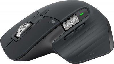 Міша безпровідна Logitech MX Master 3 Wireless/Bluetooth Graphite (910-005694)