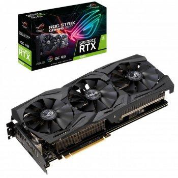 Відеокарта Asus GeForce RTX 2060 ROG Strix GAMING OC edition 6GB GDDR6 (192bit) (1860/14000) (2 x DisplayPort, 2 x HDMI 2.0 b) (ROG-STRIX-RTX2060-O6G-GAMING)